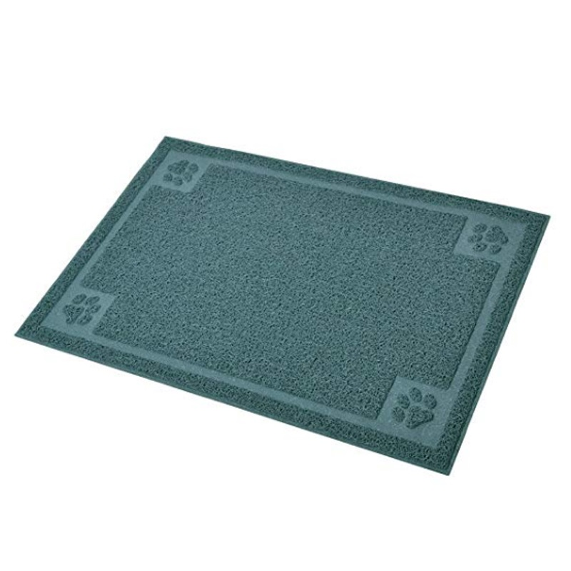 Prevents floors Flexible and Easy to Clean Pet feeding mat
