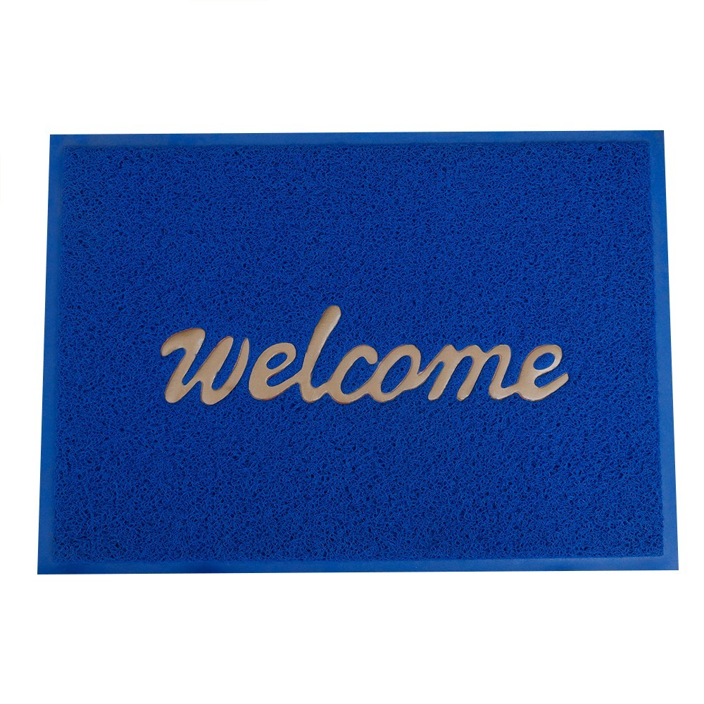 entry mat/custom logo entry mat/pvc printed welcome door mat