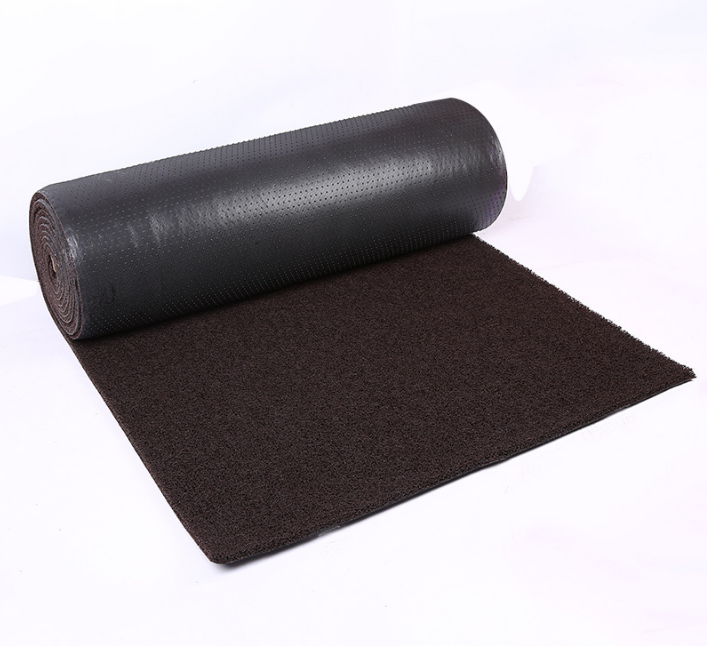 Firm Backing 3D PVC Coil Surface Mat Roll