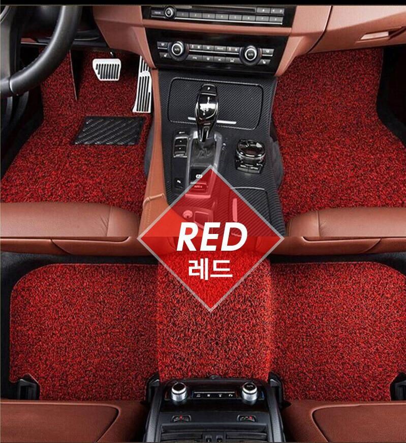 5d leather car mat High quality leather Needle Punched Full set XPE/leather 5d car mats carpet floor foot mats for all car